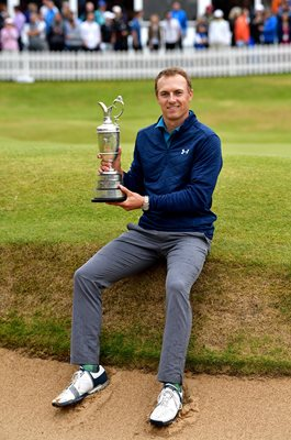 Jordan Spieth British Open Champion Royal Birkdale 2017