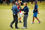 Jordan Spieth & Matt Kuchar British Open Birkdale 2017 Mounts