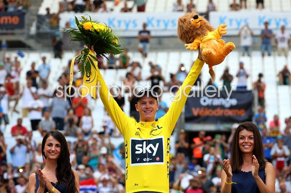 Chris Froome Time Trial Marseille Tour de France 2017