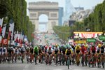 Peloton Champs-Elysees Paris Tour de France 2017 Prints