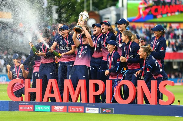 England Women's World Cup Winners 2017