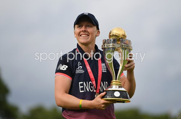 Heather Knight England Women's World Cup Winning Captain 2017