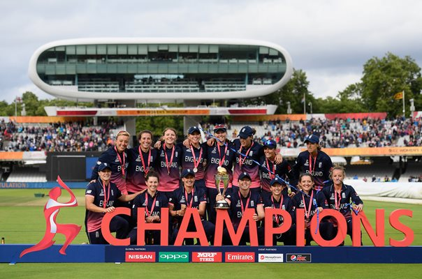 England World Cup Champions Lords 2017