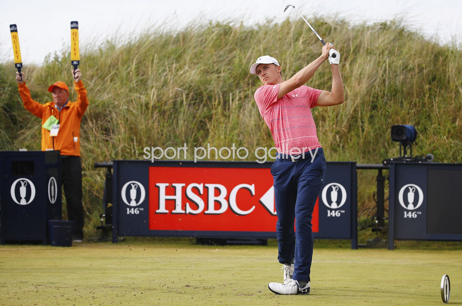 Jordan Spieth British Open Royal Birkdale 2017