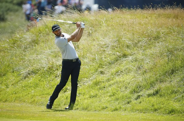 Dustin Johnson British Open Royal Birkdale 2017