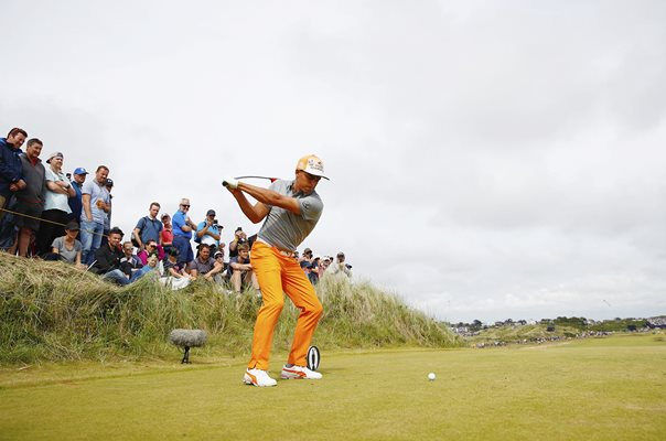 Rickie Fowler Final Round British Open Royal Birkdale 2017