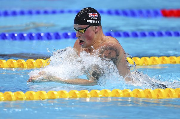 Adam Peaty Great Britain Swimming Worlds Budapest 2017