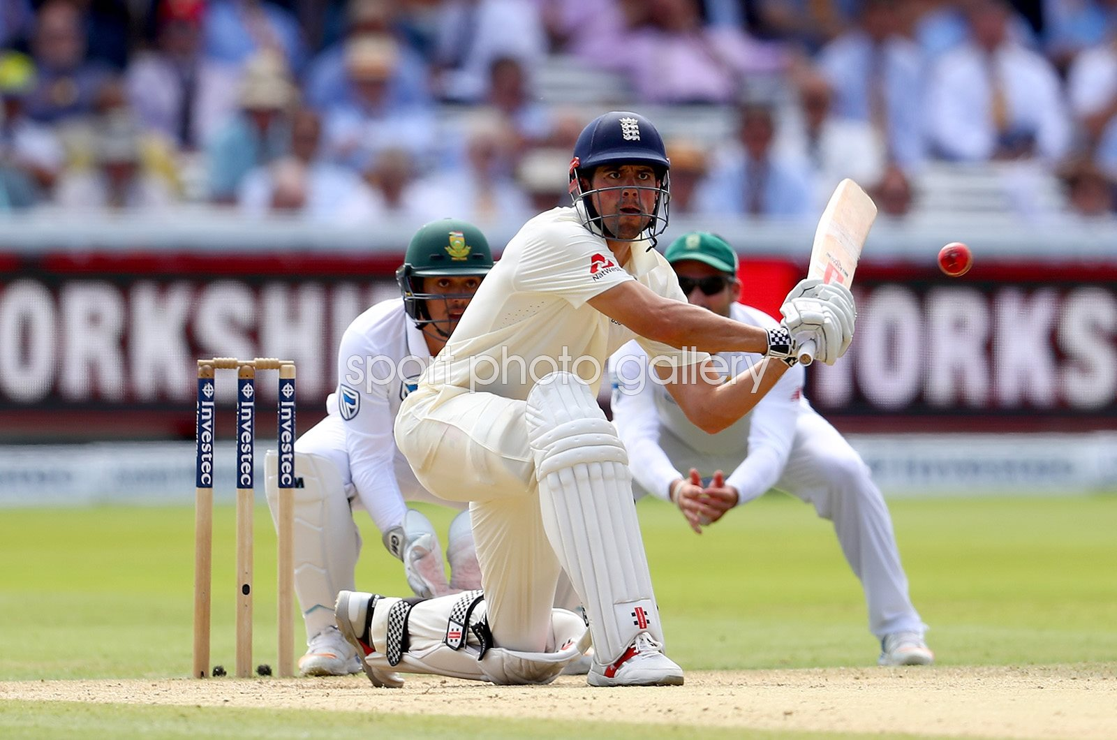 Alastair Cook England v South Africa Lord's Test 2017