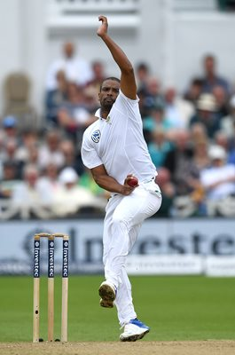Vernon Philander South Africa v England Trent Bridge 2017