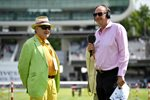 Henry Blofeld & Jonathan Agnew England v South Africa Lord's 2017 Prints