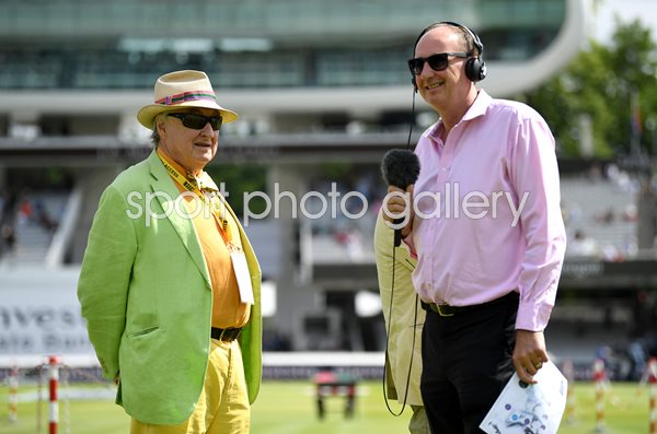 Henry Blofeld & Jonathan Agnew England v South Africa Lord's 2017
