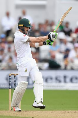 Faf du Plessis South Africa Captain v England Trent Bridge 2017