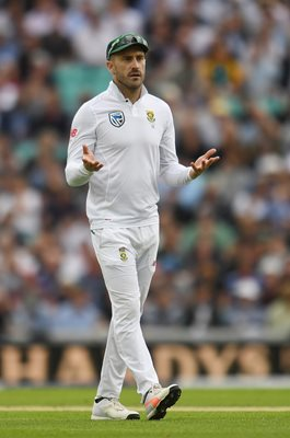 Faf du Plessis South Africa Captain v England Oval Test 2017
