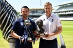Joe Root England & Dean Elgar South Africa Lord's 2017 Canvas