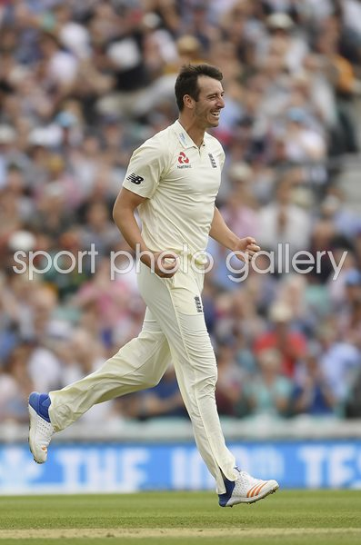 Toby Roland-Jones England v South Africa Oval Test 2017