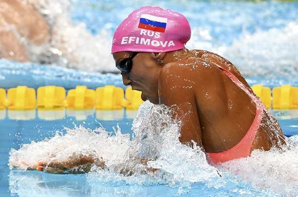 Yuliya Efimova Russia World Swimming Budapest 2017