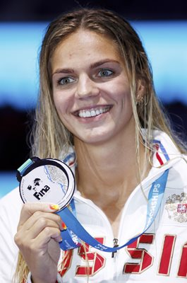 Yuliya Efimova World Swimming Budapest 2017