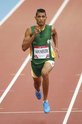 Wayde Van Niekerk South Africa Commonwealth Games Glasgow 2014