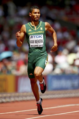 Wayde Van Niekerk South Africa World Athletics Beijing 2015