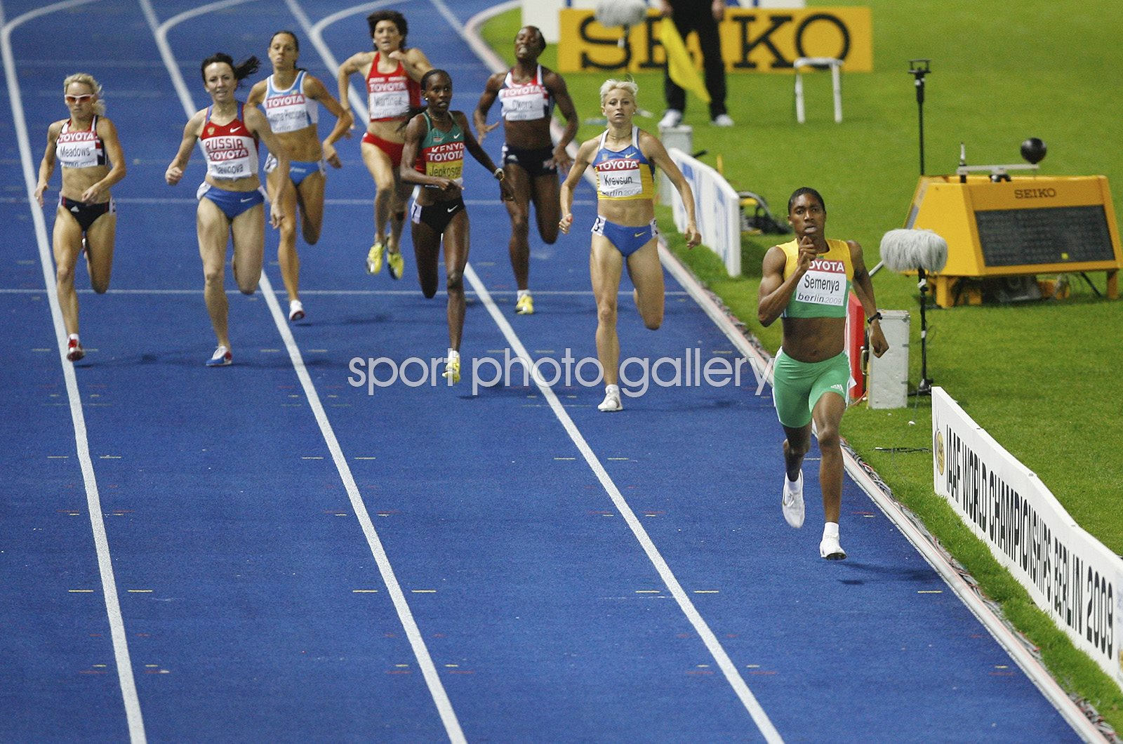 Caster Semenya South Africa World Athletics Berlin 2009