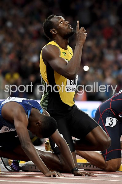 Usain Bolt Farewell World Athletics London 2017