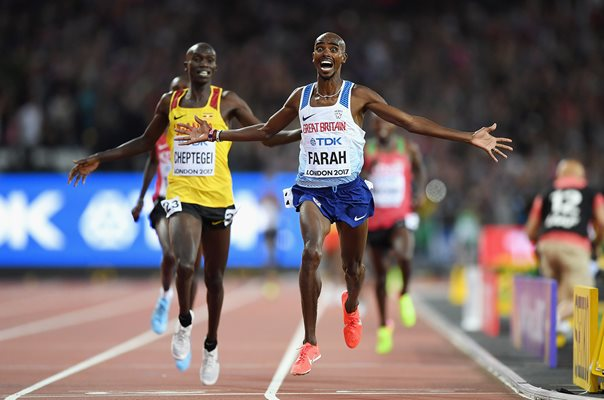 Mo Farah wins 10,000m World Athletics London 2017