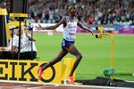 Mo Farah wins 10,000m World Athletics London 2017 Prints
