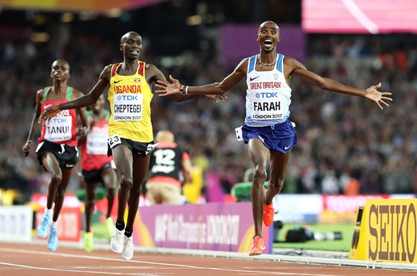 Mo Farah Great Britain 10K World Athletics London 2017