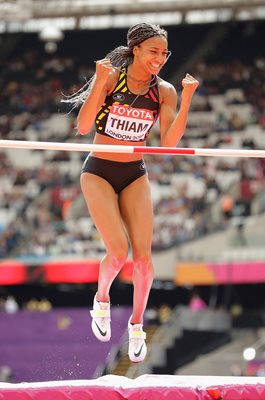 Nafissatou Thiam Belgium Heptathlon World Athletics London 2017