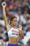 Katarina Johnson-Thompson Heptathlon World Athletics London 2017 Prints