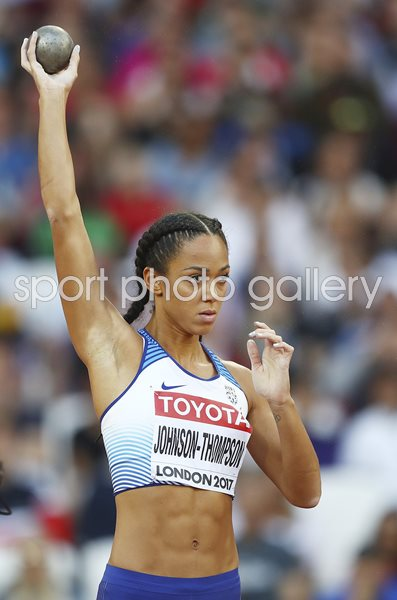 Katarina Johnson-Thompson Heptathlon World Athletics London 2017