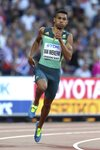 Wayde van Niekerk South Africa World Athletics London 2017 Mounts