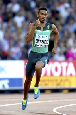 Wayde van Niekerk South Africa World Athletics London 2017