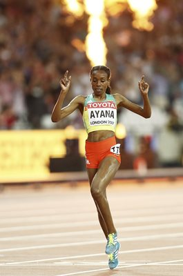 Almaz Ayana Ethiopia World Athletics London 2017