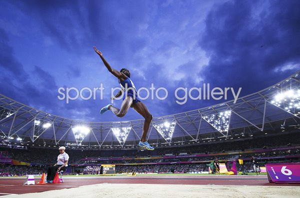 Jarrion Lawson USA Long Jump World Athletics London 2017
