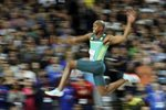 Luvo Manyonga South Africa Long Jump Gold World Athletics London 2017  Prints