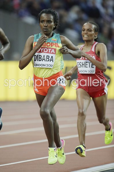 Tirunesh Dibaba Ethiopia World Athletics London 2017