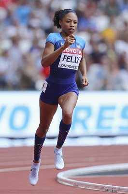 Allyson Felix USA World Athletics London 2017