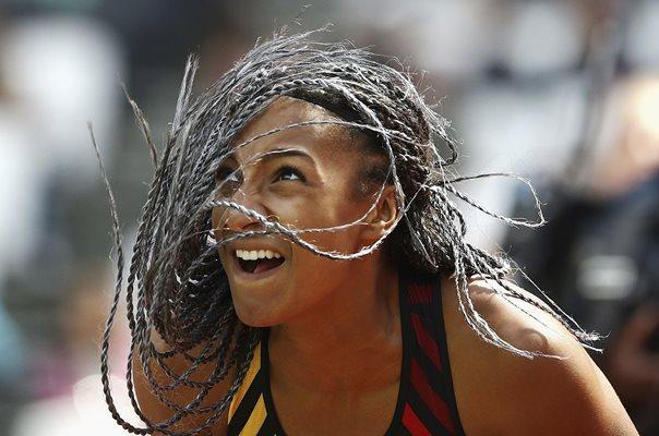 Nafissatou Thiam Belgium World Heptathlon Champion London 2017