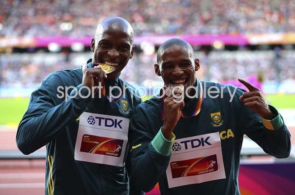 Luvo Manyonga South Africa Long Jump Gold World Athletics London 2017