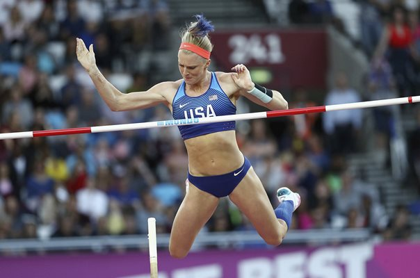 Sandi Morris USA Pole Vault World Athletics London 2017