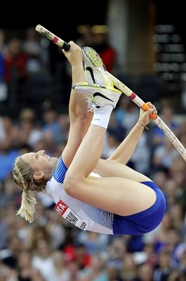 Holly Bradshaw Great Britain Pole Vault World Athletics London 2017