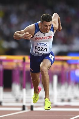 Andrew Pozzi Great Britain 110m Hurdles World Athletics London 2017
