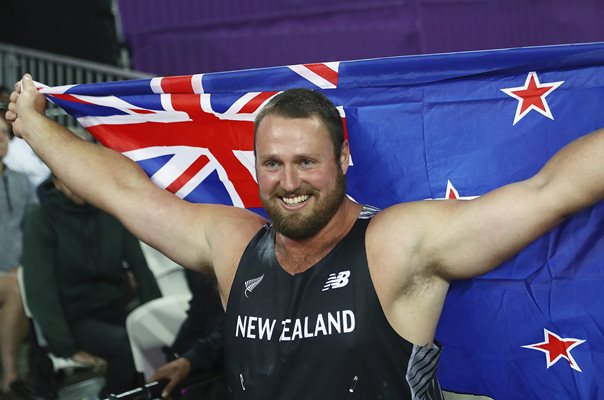 Tomas Walsh Shot Put World Athletics London 2017