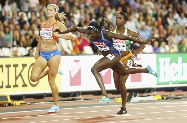 Tori Bowie USA 100 metres World Athletics London 2017
