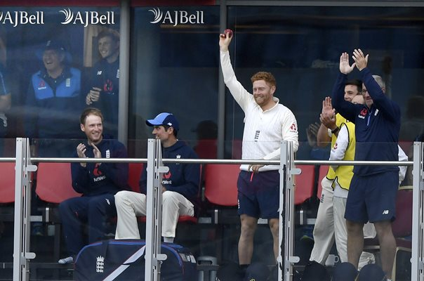 Jonny Bairstow catches Moeen Ali 6 England v South Africa Old Trafford 2017