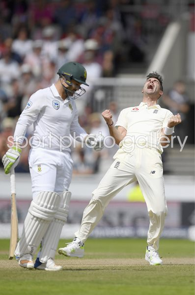 James Anderson England v South Africa Old Trafford 2017