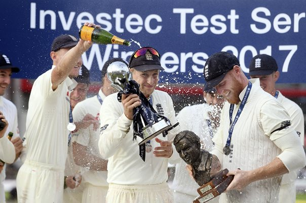 Joe Root England beat South Africa 2017 Test Series