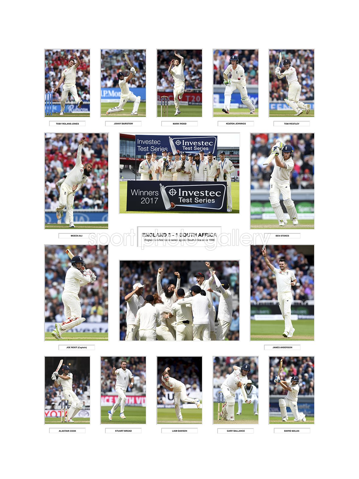 England 2017 Test Cricket Team Special