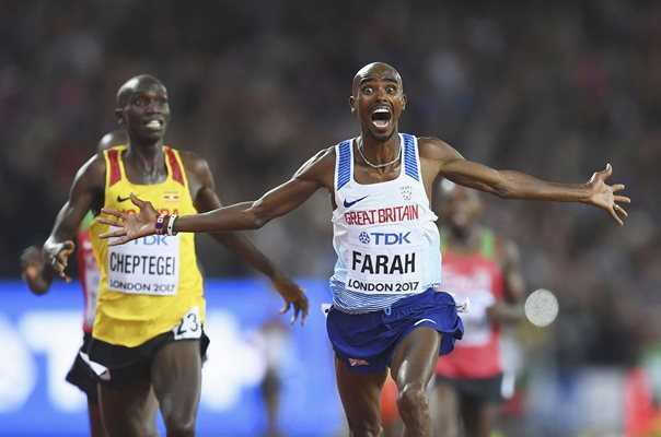 Mo Farah Great Britain 10,000m Gold World Athletics London 2017